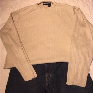Claiborne Sweaters - Tan Claiborne sweater